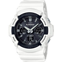 Đồng hồ nam Casio G-Shock GAS-100B-7A - Dây đeo nhựa màu trắng