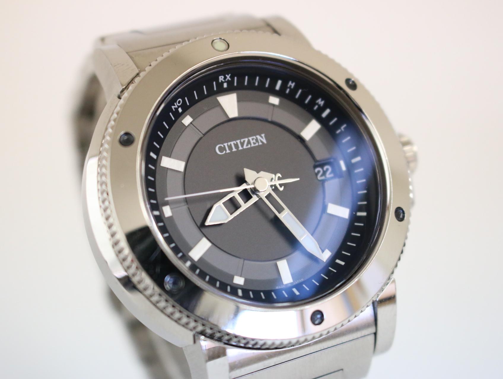 Mẫu đồng hồ nam AS7110-55E dây kim loại