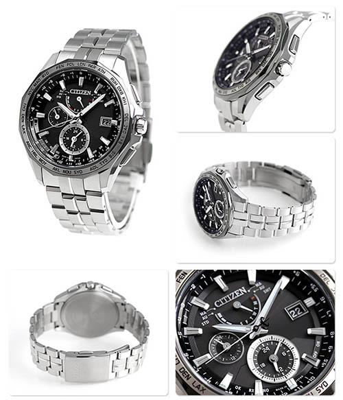 Đồng hồ nam Citizen AT9096-57E dây kim loại