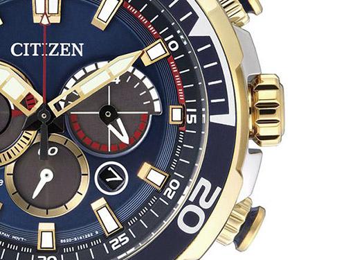 Chi tiết đồng hồ đeo tay nam Citizen CA4254-53L