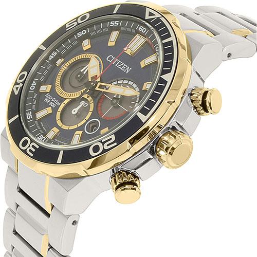 Chi tiết đồng hồ nam Citizen CA4254-53L dây đeo kim loại