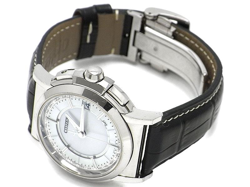 Đồng hồ Citizen CB1000-01A dây da Nhật Bản