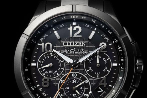 Chi tiết mặt đồng hồ citizen