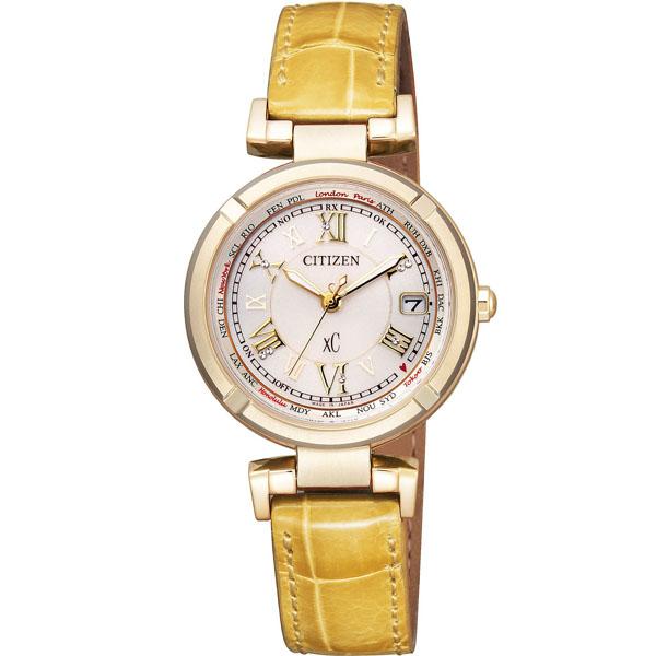 Mẫu đồng hồ đeo tay EC1115-08A dây da cao cấp