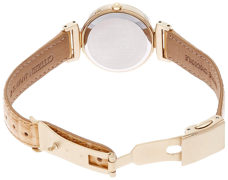 Chi tiết mẫu đồng hồ nữ EC1115-08A dây da