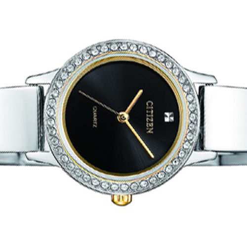 Chi tiết mặt đồng hồ nữ Citizen EJ6134-50E