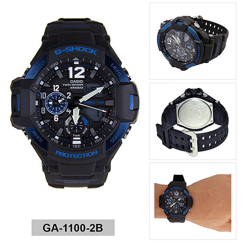 đồng hồ nam Casio GA-1100-2BDR