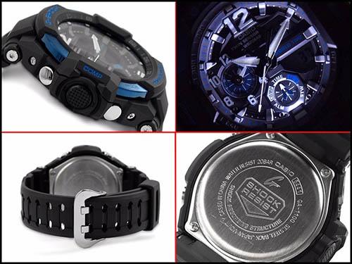 Chi tiết đồng hồ Casio G Shock GA-1100-2BDR