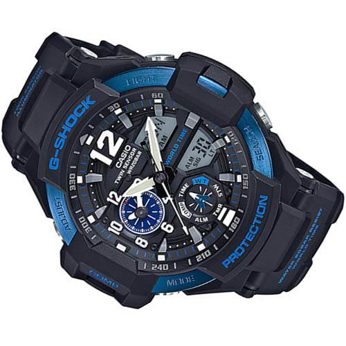Đồng hồ Casio G-Shock GA-1100-2BDR Màn hình to rõ ràng