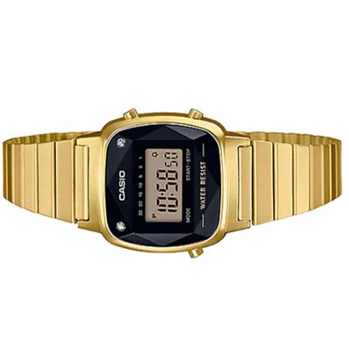 Đồng hồ Casio LA670WGAD-1DF Sành điệu Thời trang